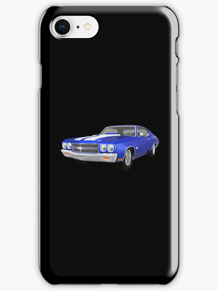 Blue 1970 Chevelle SS by bradyarnold