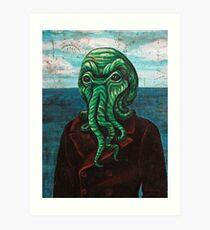 Man from Innsmouth Art Print