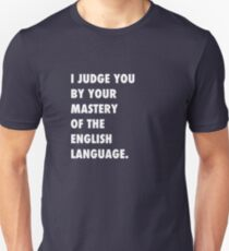 English Language Unisex T-Shirt