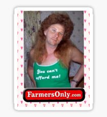 Farmers Only Roy Sticker