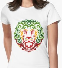 RastaLion Womens Fitted T-Shirt