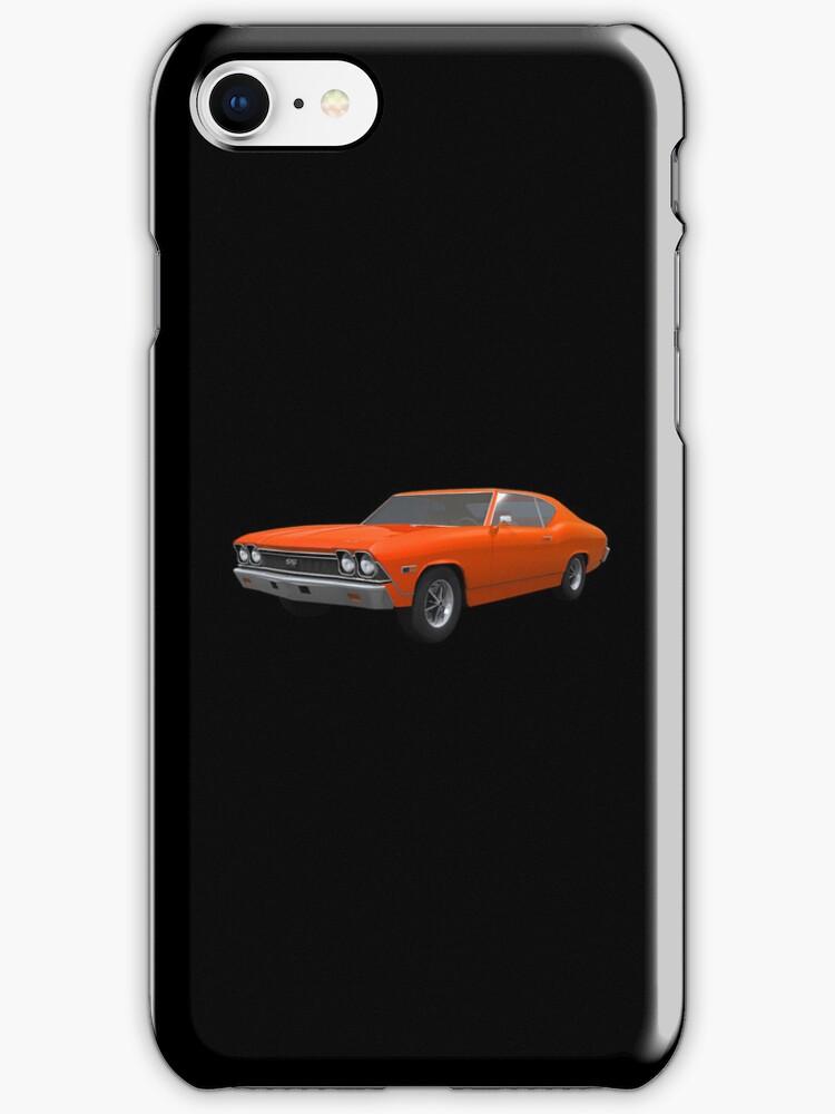 Orange 1968 Chevelle SS by bradyarnold