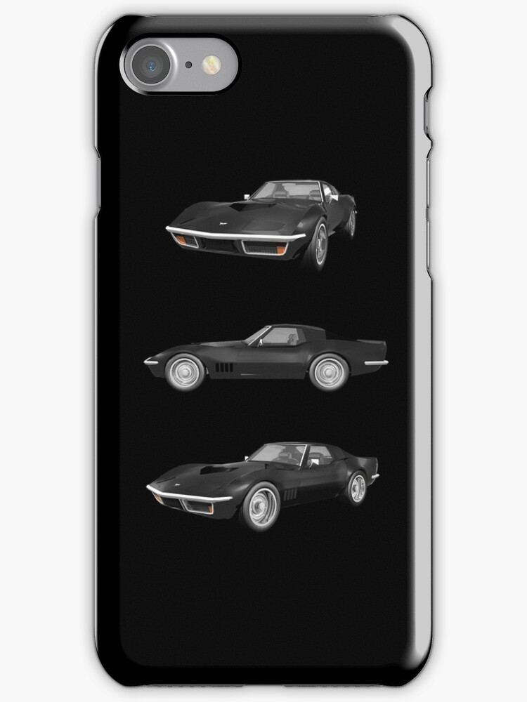 Black 1970 Corvette by bradyarnold