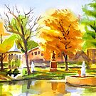 Autumn at the Villa by KipDeVore