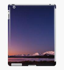 Lake Tekapo Sunset Stars iPad Case/Skin