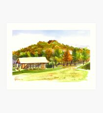Pilot Knob Mountain 2 Art Print