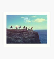 BTS/Bangtan Sonyeondan - Group Teaser 3 Art Print