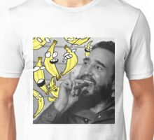 Fidel Castro With Some Bananas Unisex T-Shirt