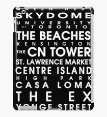 Toronto City Roll iPad Case/Skin