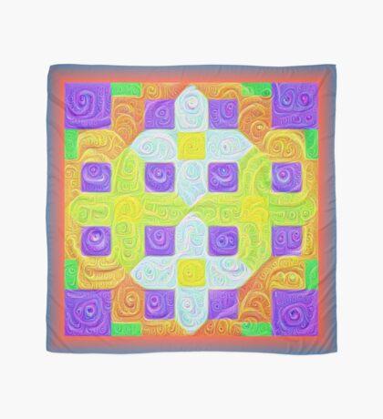 #DeepDream Color Squares Visual Areas 5x5K v1448291932 Scarf