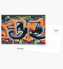 Street Art: A Touch of Mexico Postcards