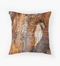 Timber Eye Wall Art Throw Pillow