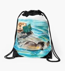 Otter Drawstring Bag