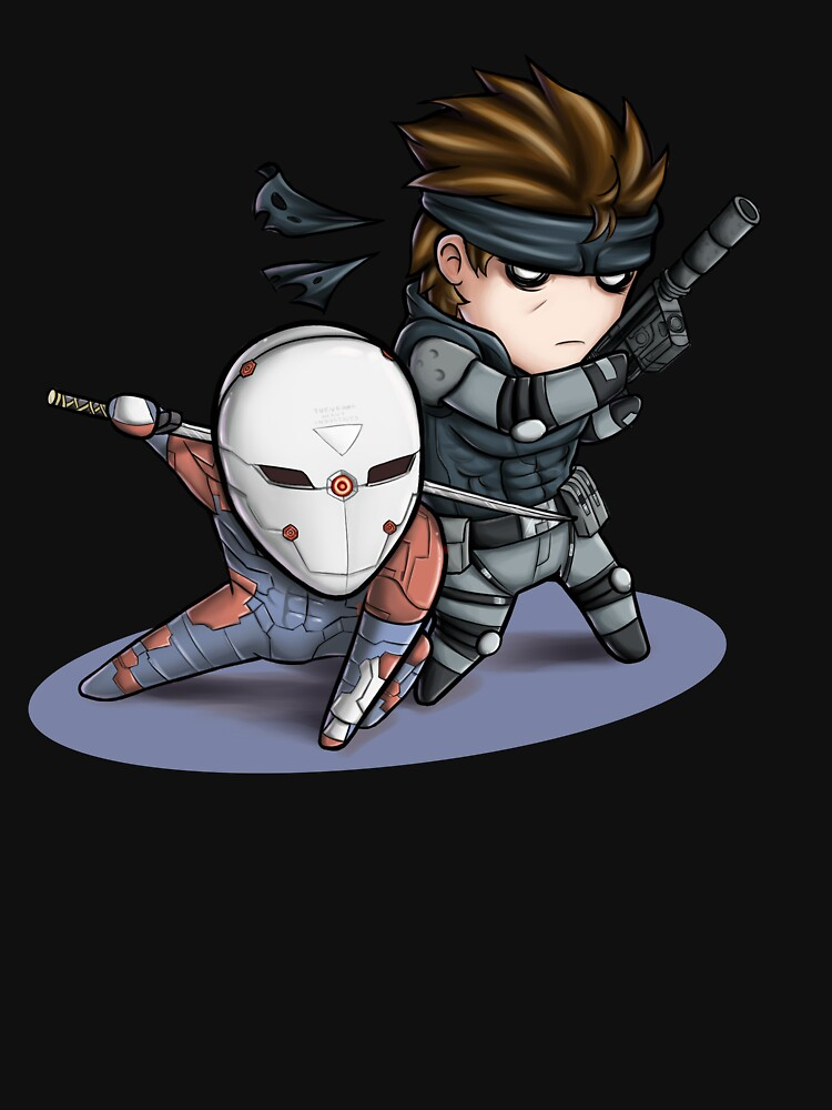 MGS1: Fox and Snake by TheSketcher