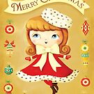 Vintage Christmas Girl by colonelle