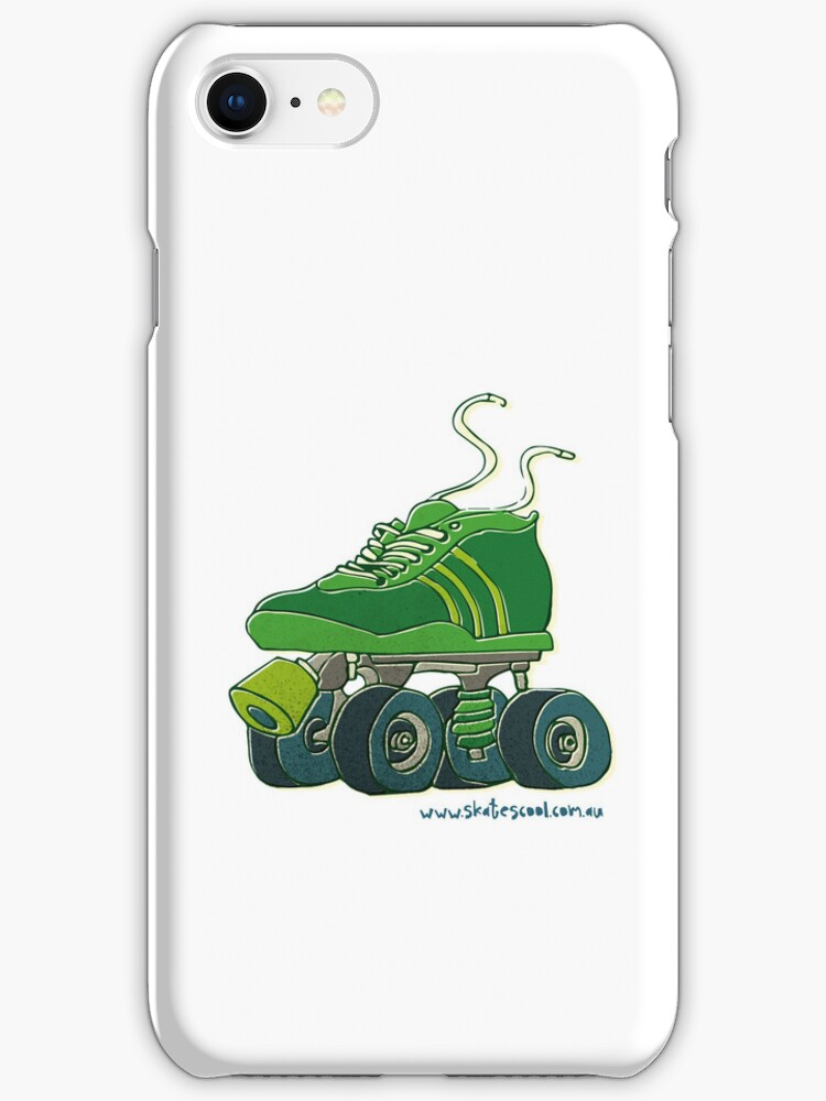 Big Skate White - Iphone Case by Skatescool