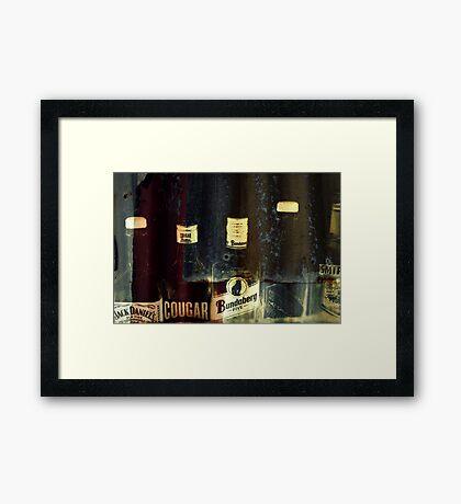 The Iron Bar Framed Print