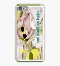 """ God Made Me Funky ""  Baby iPhone Case iPhone Case/Skin"