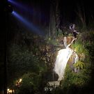 The lights are on.At Steavenson falls. by Donovan Wilson