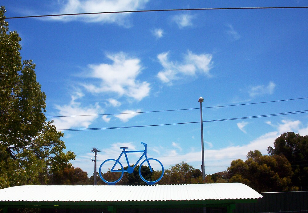 The Bicycle Two - 13 11 12 by Robert Phillips