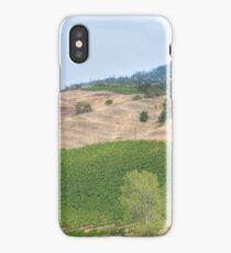 Vineyard Landscape iPhone Case/Skin