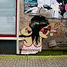 Amsterdam Graffiti by Louise Fahy