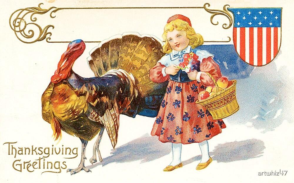 Happy Thanksgiving, USA! by artwhiz47