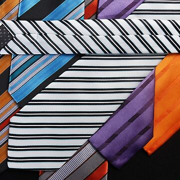 Close-up photo of color men's tie by FelixQ66