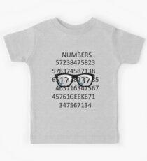 NUMBERS GEEK Kids Clothes