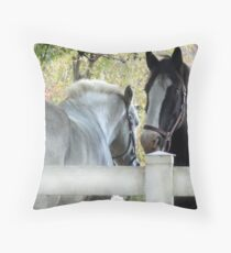 Heads&Tails Throw Pillow