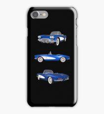 Blue 1961 Corvette C1 iPhone Case/Skin