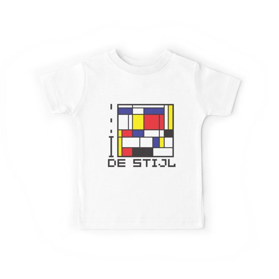 I LOVE DE STIJL T-shirt by ethnographics