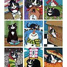 The ACEO Collection - It's A Cat's Life by Lisa Marie Robinson