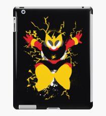 Elec Man Splattery Design iPad Case/Skin