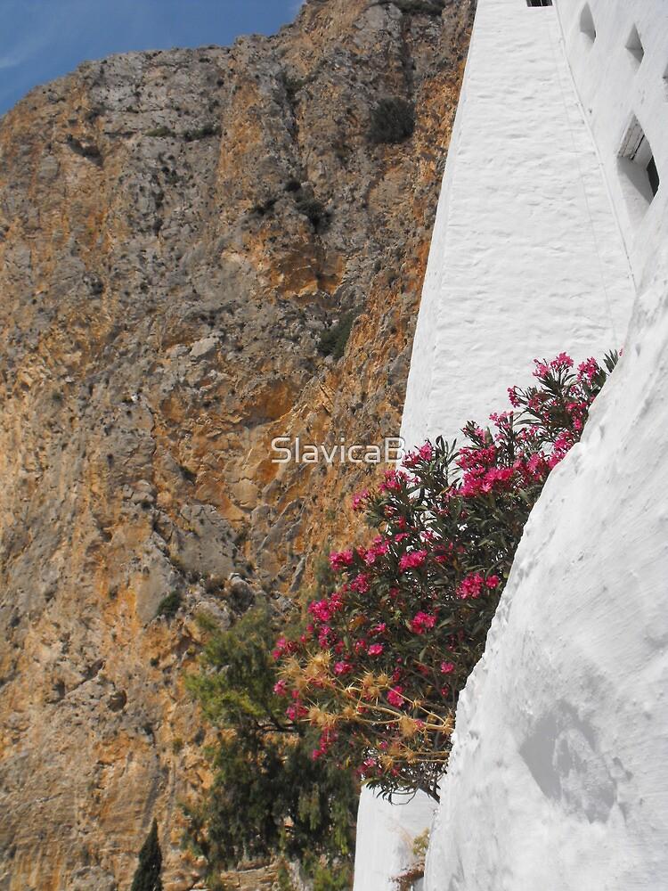 Amorgos Monastery view 1 by SlavicaB
