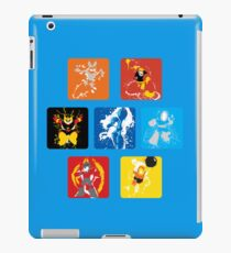 Robot Masters of Mega Man 1 Splatter Art iPad Case/Skin