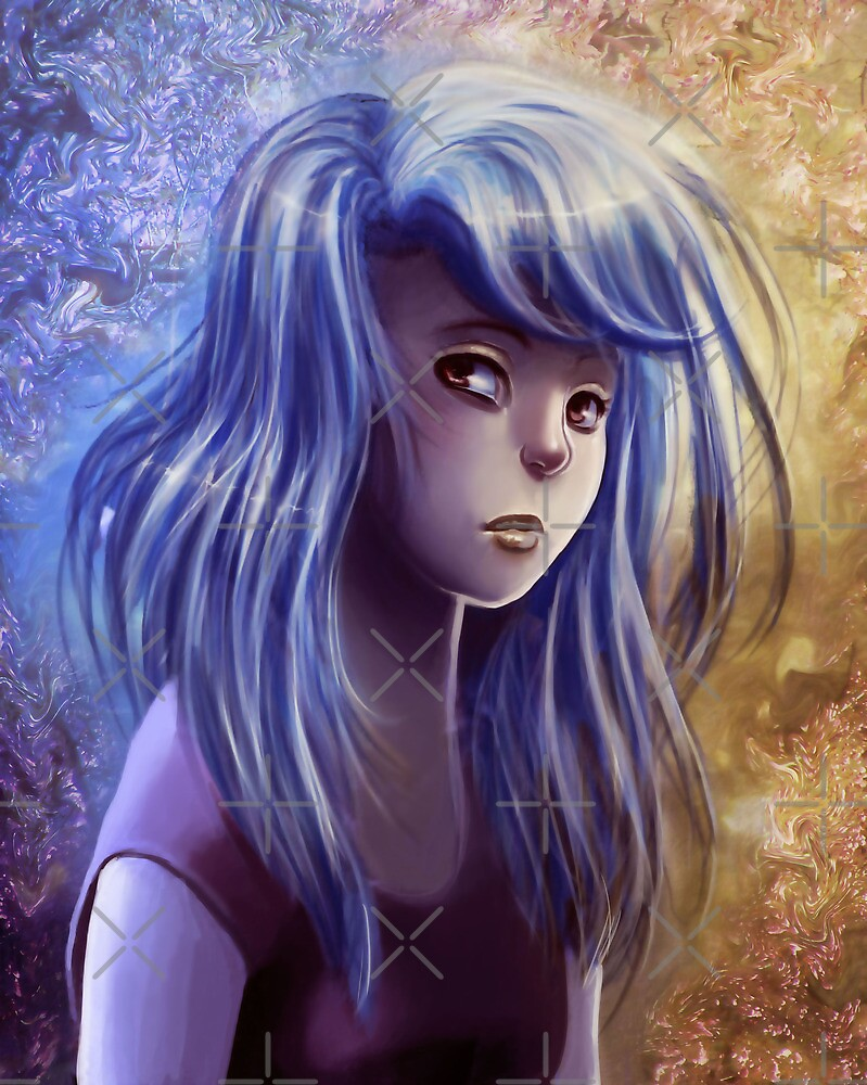 Blue Girl by SaradaBoru