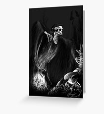 Whats in the Dark Greeting Card