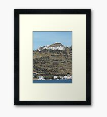 Greek island  Framed Print
