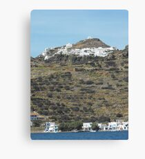 Greek island  Canvas Print