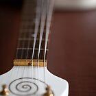 Guitar Glancing by Karol Livote