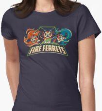 Fire Ferrets! Women's Fitted T-Shirt