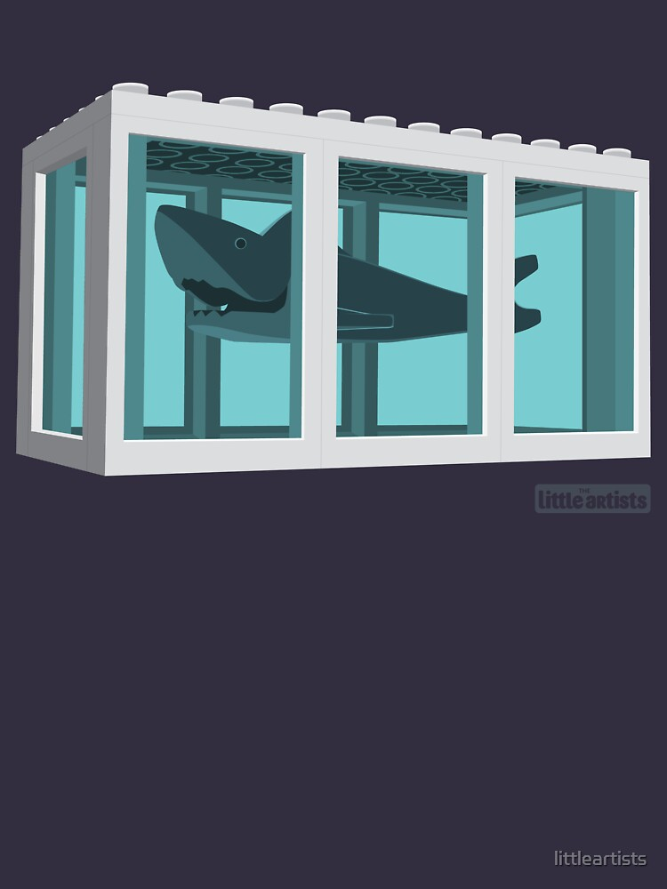 Hirst's Shark Tank by littleartists