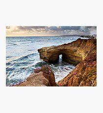 Sunset Cliffs San Diego Photographic Print