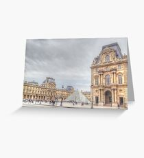 Loving The Louvre Greeting Card