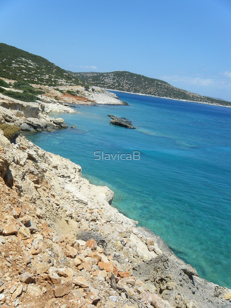 Lipsi Island Greece - Beach by SlavicaB