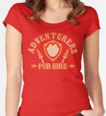 Adventurers For Hire Women's Fitted Scoop T-Shirt