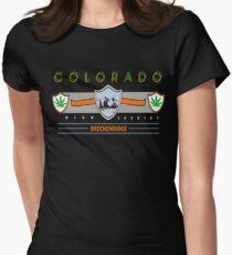 "Marijuana Breckenridge Colorado ""High Country"" T-Shirt"