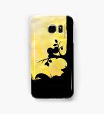 Woodland Shadows - Fox and Squirrel:Summer Samsung Galaxy Case/Skin