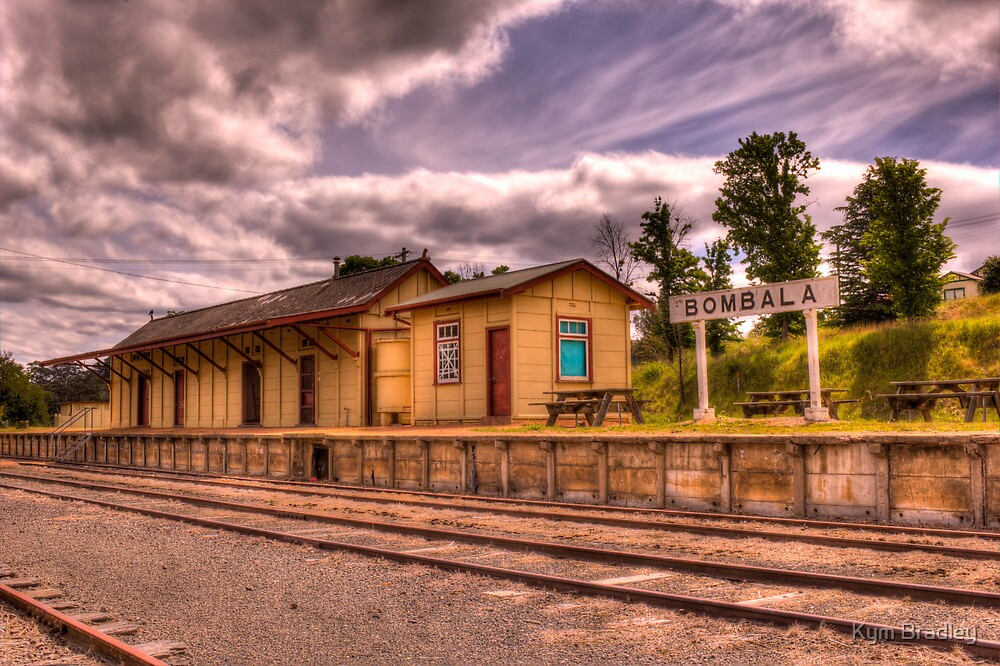 Bombala Railway Station by Kym Bradley